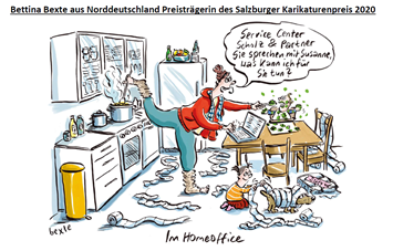 Karikaturenpreis - 1. Platz SKP Quelle: Bettina Bexte