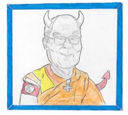 Karikaturenpreis - EUREGIO Schülerpreis 1. Platz Quelle: Lorenz Schüchter