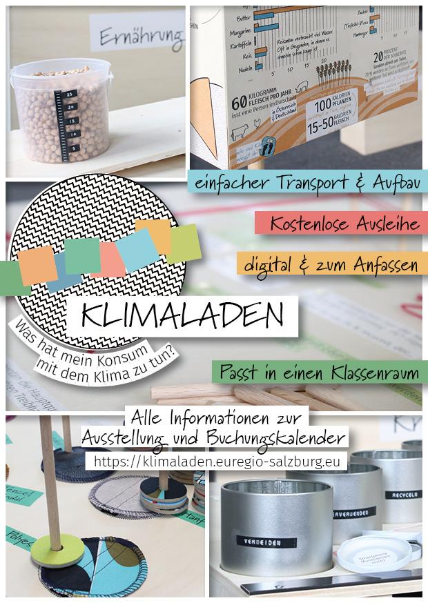 Klimaladen Titelseite Flyer Quelle: Eva Zangerle gestaltet, www.evazangerle.com