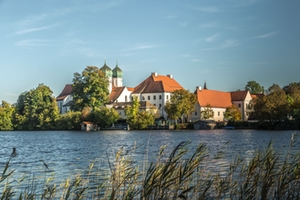 Mozart-Radweg - Kloster Seeon Quelle: Chiemgau Tourismus e.V.