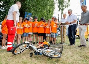 Kindersicherheitsolympiade 2021 Fahrradunfall Quelle: SZSV_2021_sb