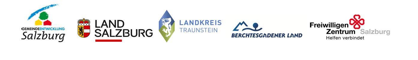 Bürgerschaftliches Engagement Partner Logos