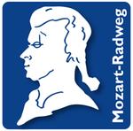 Mozart-Radweg - Logo