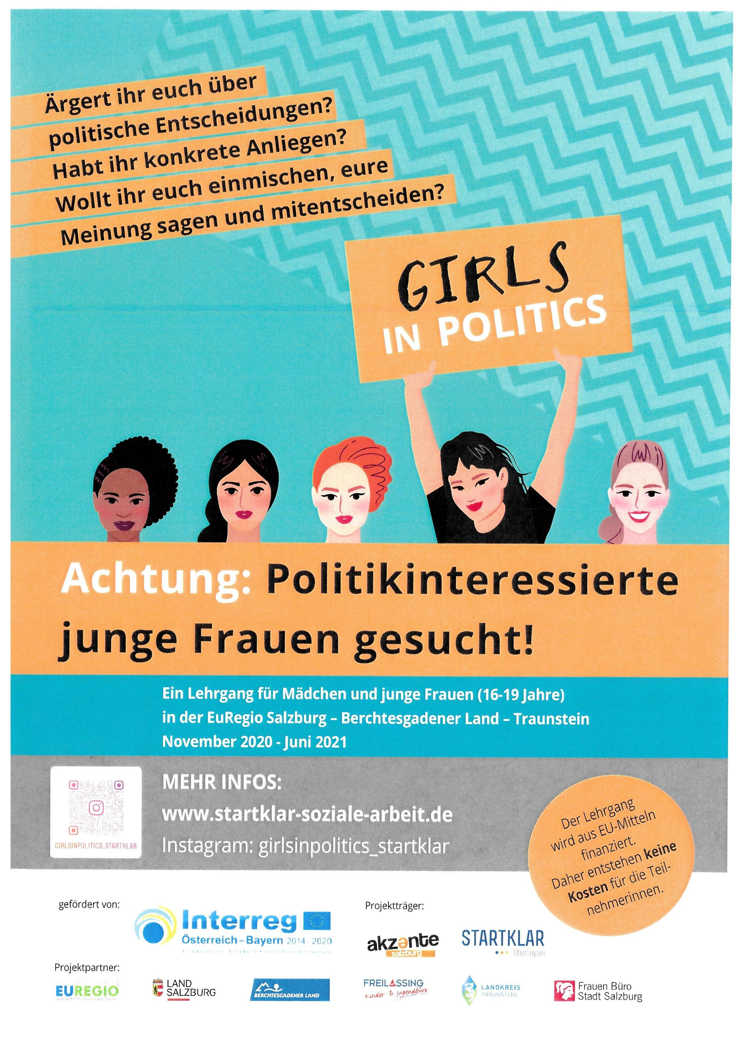 Girls in Politics Plakat
