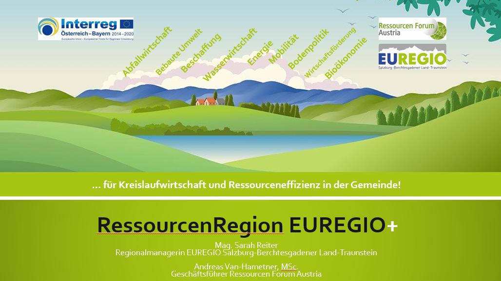 Auftakt RessourcenRegionEUREGIO+ Quelle EUREGIO