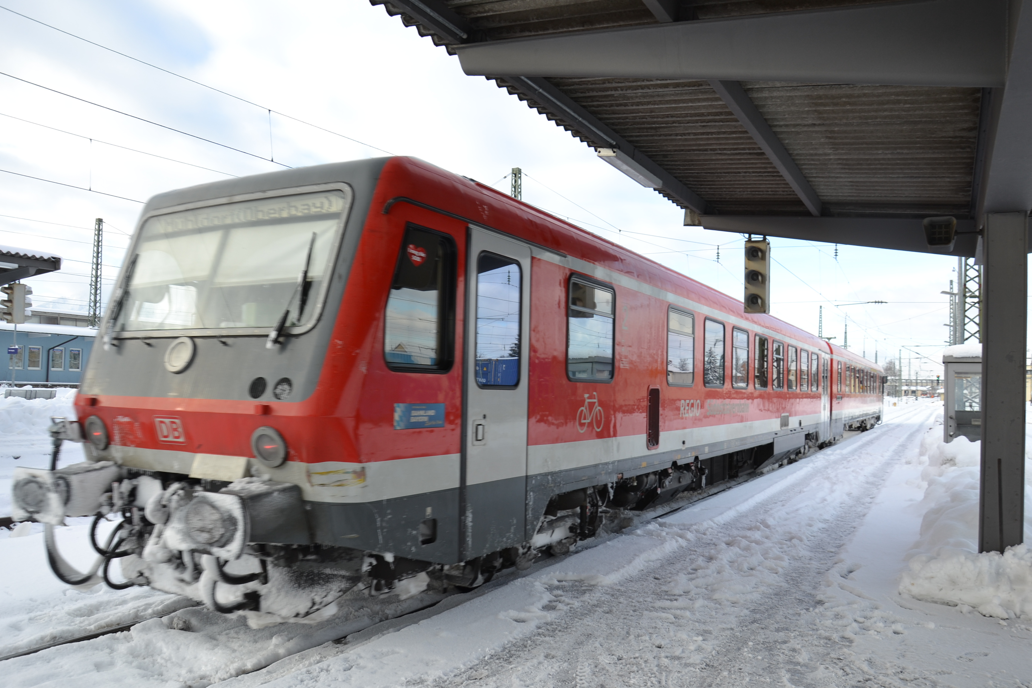Zug im Bahnhof Freilassing 1- Quelle EUREGIO